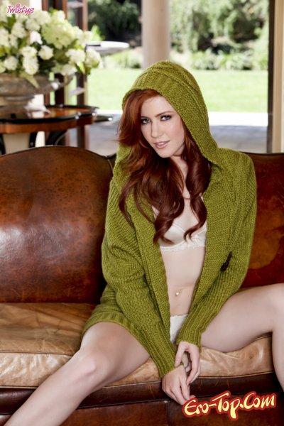 Elle Alexandra - голая рыженькая красотка. Фото